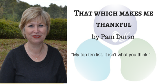 That Which Makes Me Thankful by Pam Durso