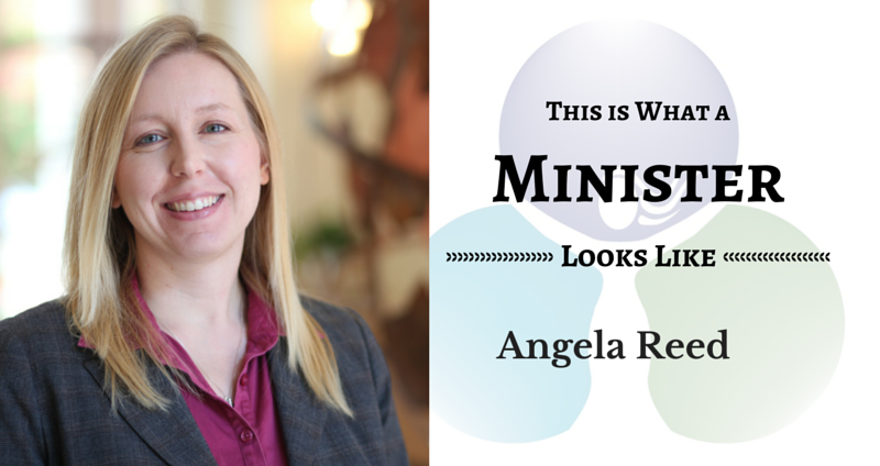 THIS IS WHAT A MINISTER LOOKS LIKE: Angela Reed