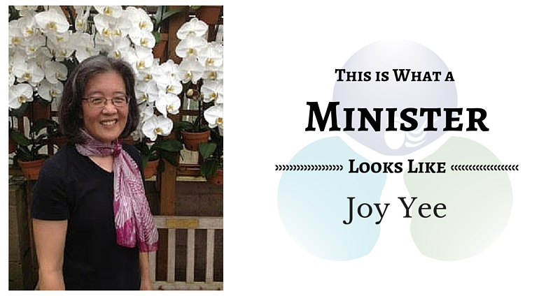 THIS IS WHAT A MINISTER LOOKS LIKE: Joy Yee