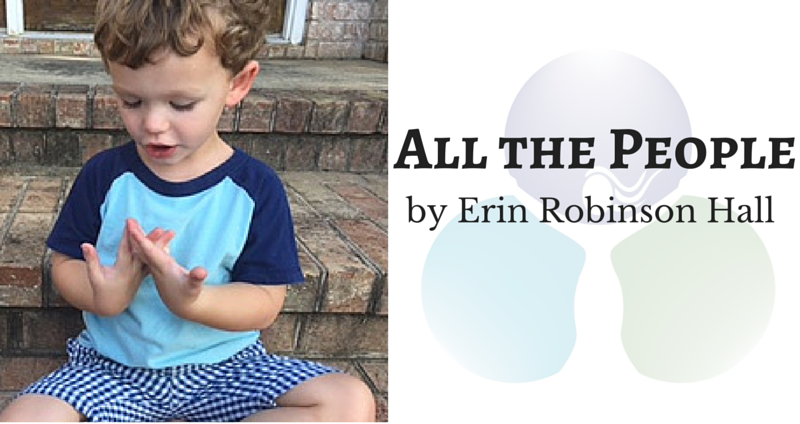All the People by Erin Robinson Hall