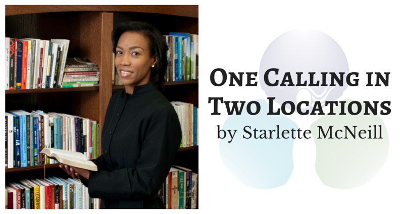 One Calling in Two Locations by Starlette McNeill