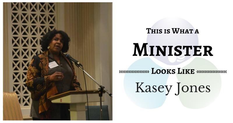 THIS IS WHAT A MINISTER LOOKS LIKE: Kasey Jones