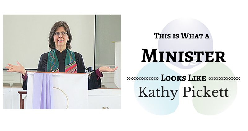 THIS IS WHAT A MINISTER LOOKS LIKE: Kathy Pickett