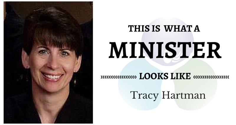 THIS IS WHAT A MINISTER LOOKS LIKE: Tracy Hartman