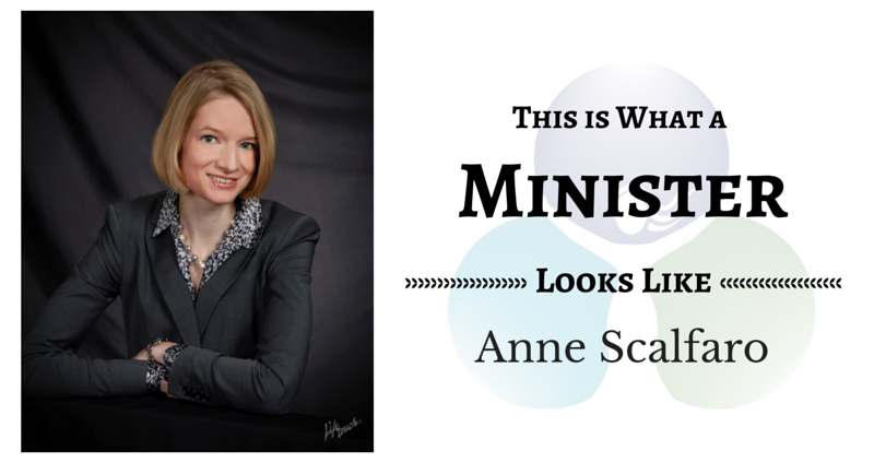 THIS IS WHAT A MINISTER LOOKS LIKE: Anne Scalfaro