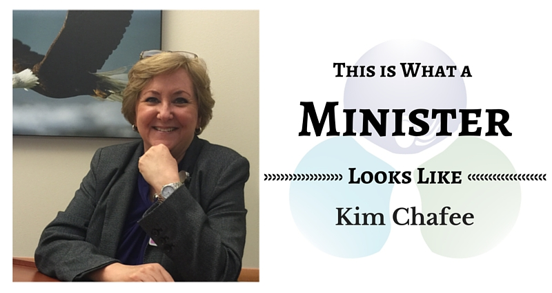THIS IS WHAT A MINISTER LOOKS LIKE: Kim Chafee