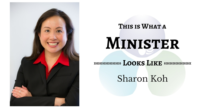 THIS IS WHAT A MINISTER LOOKS LIKE: Sharon Koh