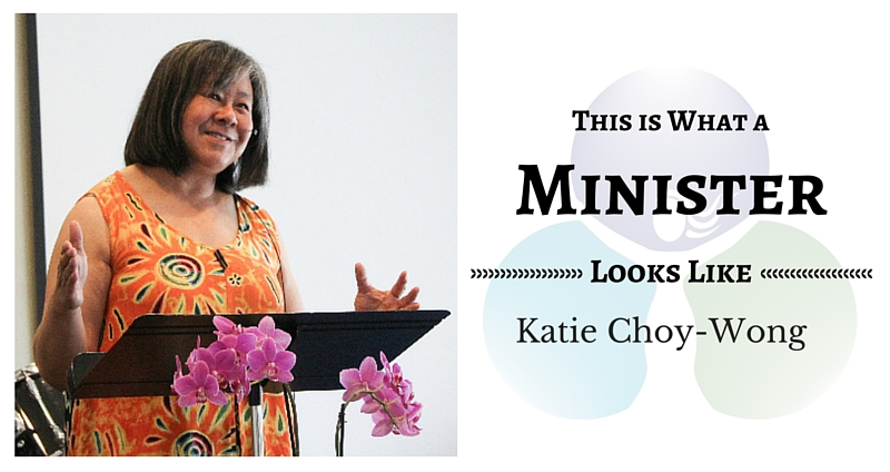 THIS IS WHAT A MINISTER LOOKS LIKE: Katie Choy-Wong