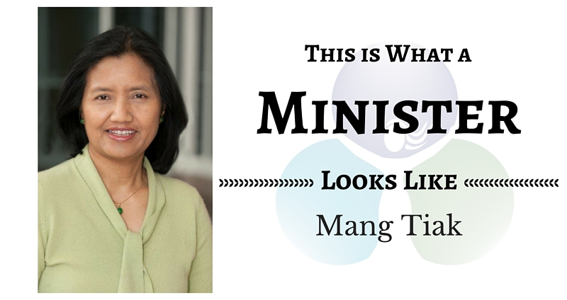THIS IS WHAT A MINISTER LOOKS LIKE: Mang Tiak