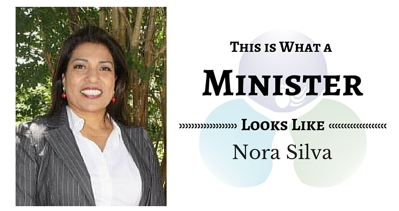 THIS IS WHAT A MINISTER LOOKS: Nora Silva
