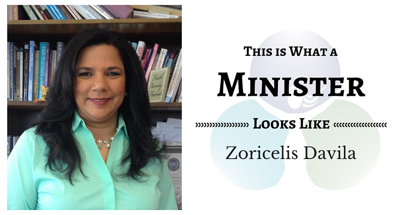 THIS IS WHAT A MINISTER LOOKS LIKE: Zoricelis Davila