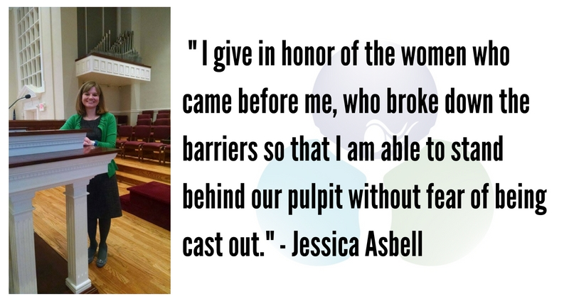 I Give in Honor of the Women Who Came Before Me by Jessica Asbell