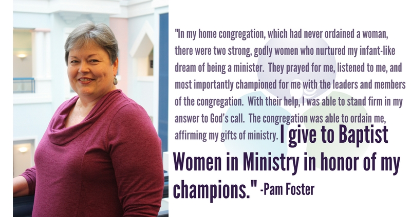 I Give to Honor My Champions by Pam Foster
