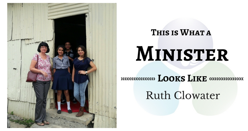 THIS IS WHAT A MINISTER LOOKS LIKE: Ruth Clowater