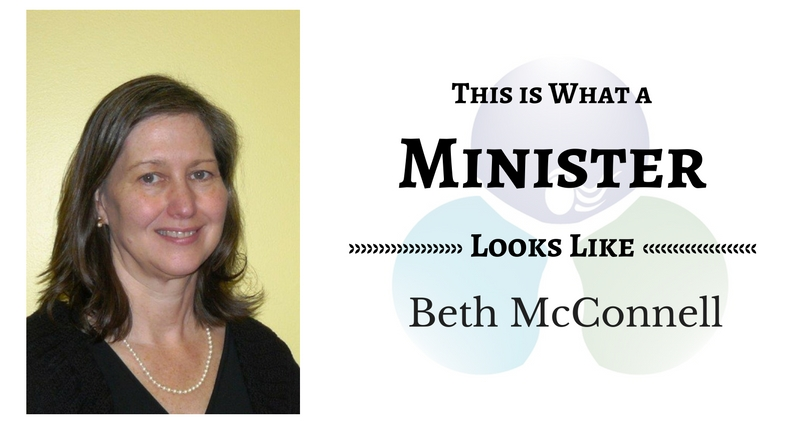 THIS IS WHAT A  MINISTER LOOKS LIKE: Beth McConnell