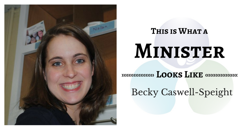 THIS IS WHAT A MINISTER LOOKS LIKE: Becky Caswell-Speight