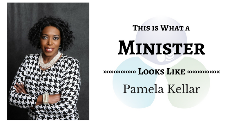 THIS IS WHAT A MINISTER LOOKS LIKE: Pamela Kellar