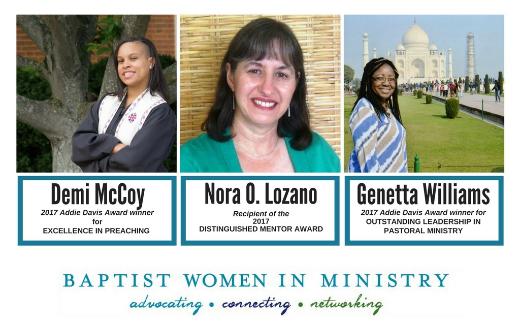 Annual Awards Honor Baptist Women Ministers