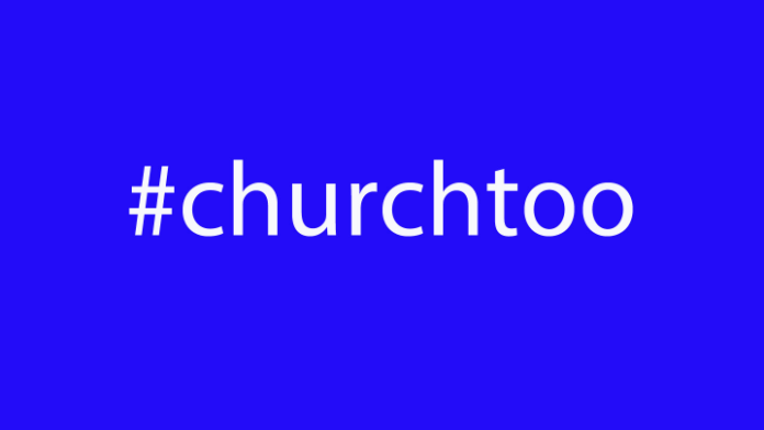 #churchtoo by Pam Durso